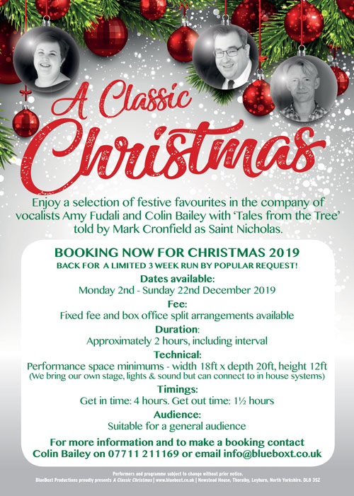 Classic Christmas Booking Info